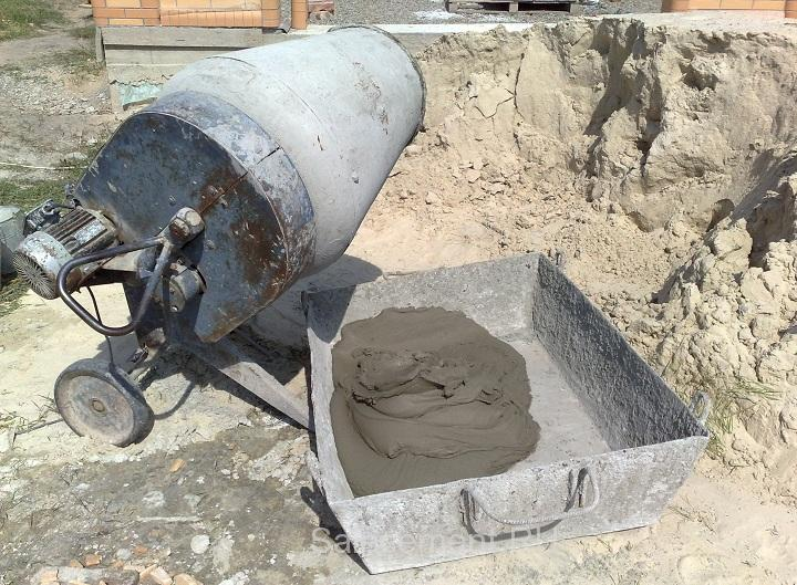 Как разводить цемент М500