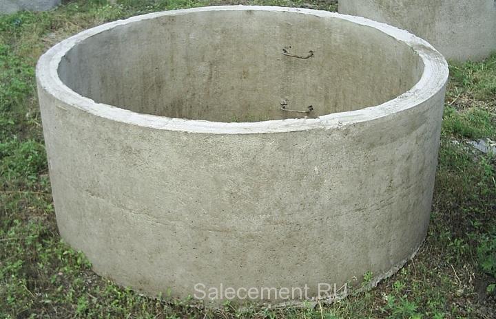 Сколько надо цемента на бетонное кольцо