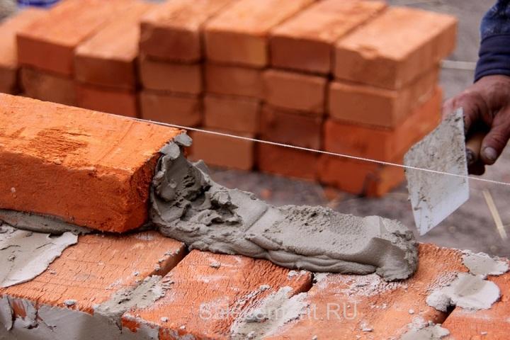 расчет количества цемента для кладки кирпича