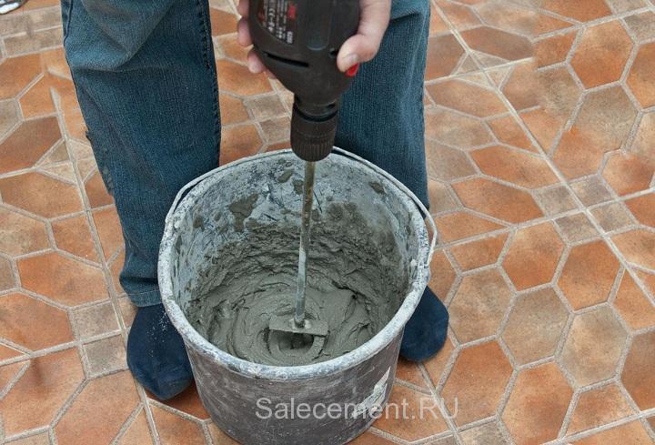 как приготовить раствор цемента с жидким стеклом
