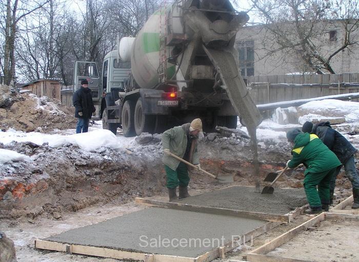 сколько стоит залить бетон