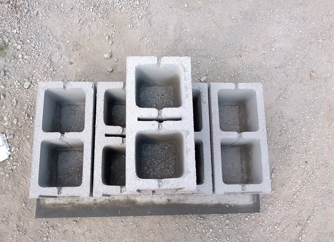 дом их таких блоков будет служить дого