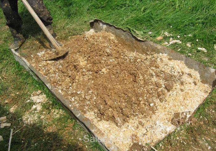 пропорции раствора из опилок, песка и цемента