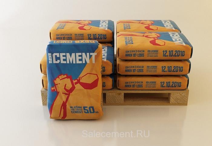 Сколько мешков цемента в палете