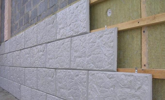 фасад из бетонного сайдинга