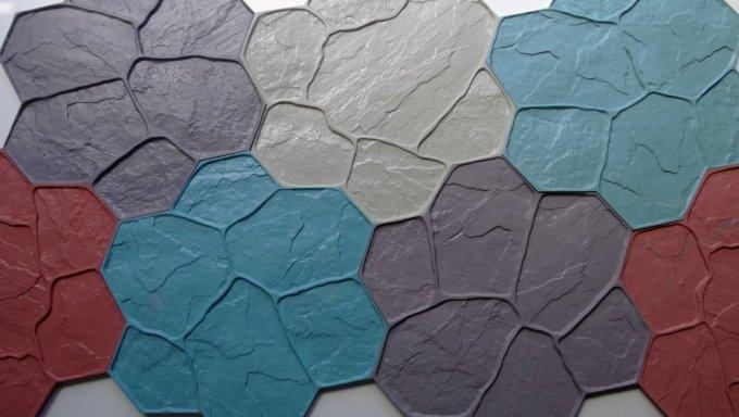 трафарет для штампованного бетона