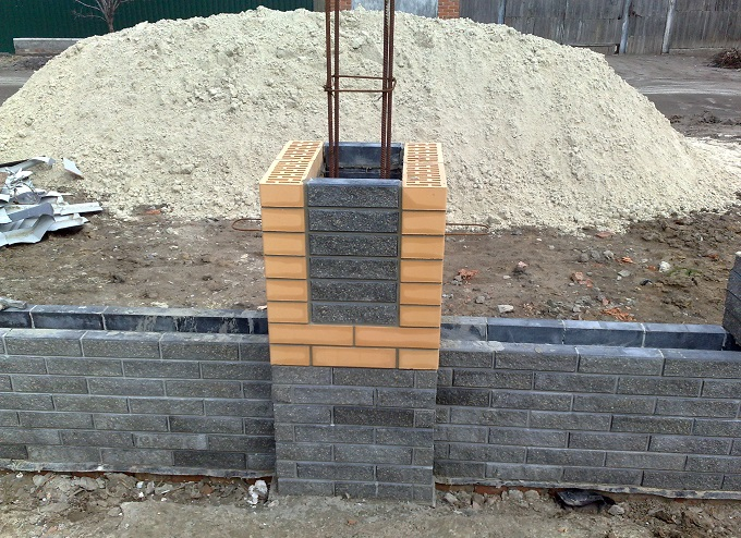 какой бетон нужен для хзабора