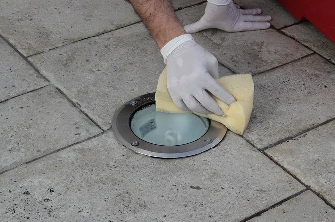 как отмыть цемент