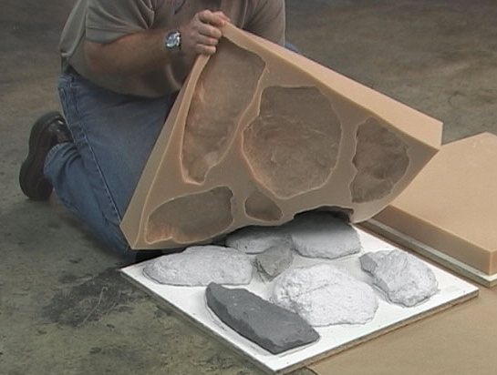 Как сделать камень своими руками из цемента фото