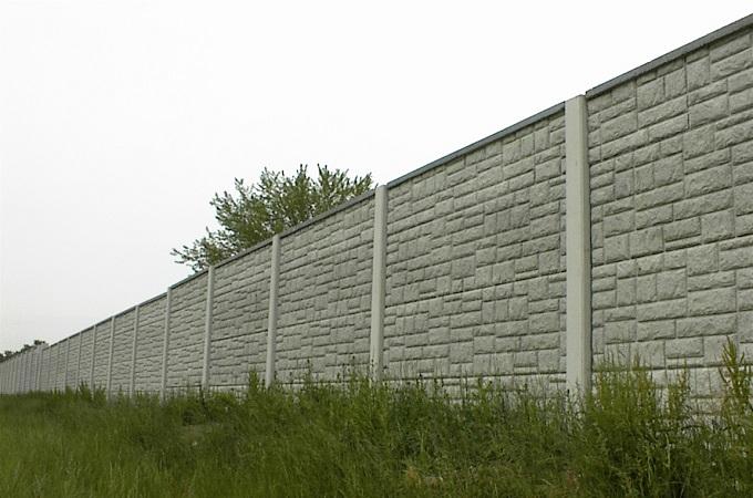 забор из цемнта