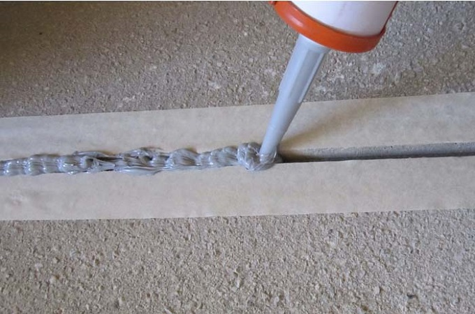 как использовать герметик для бетона