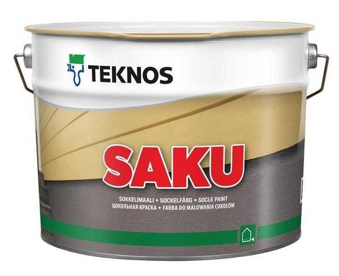 Teknos для цоколя и бетонного пола