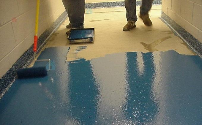 лучшая краска для бетонного пола