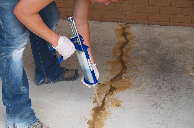 причины почему бетон трескается