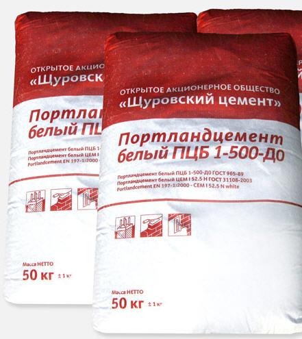 щуровский белый цемент