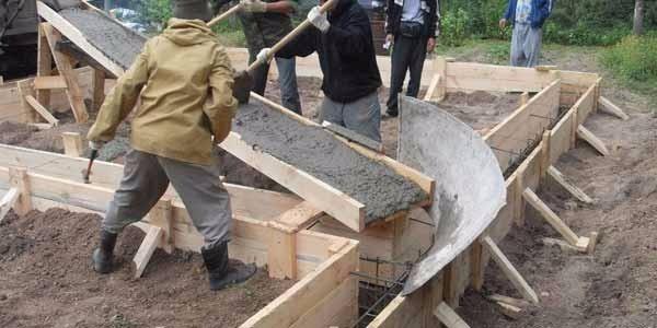 лоток для бетона