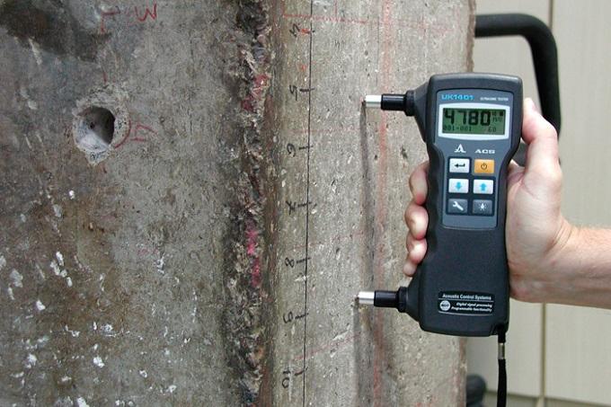определение прочности бетона с помощью ультразвука