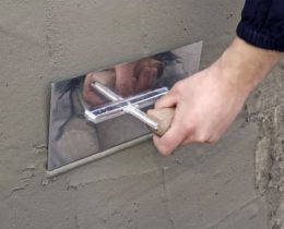 Как сделать цементную шпаклевку для наружных работ?