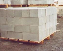 Количество газобетона в одном кубе, на паддоне